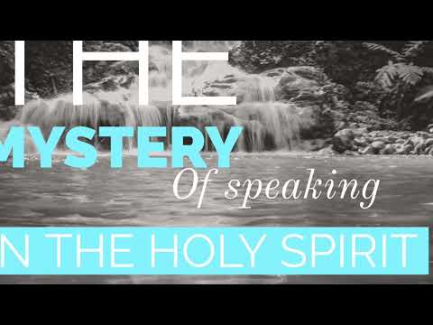 The Mystery of Speaking in the Holy Spirit  Prophet Ebenezer Gabriels