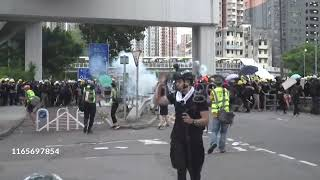 Violent Clashes During Protests In Hong Kong(27 July 2019)