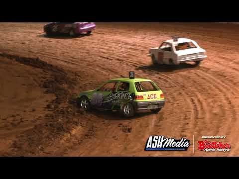 Junior Sedan: New Stars - A-Main - Maryborough Speedway - 24.10.2020 - dirt track racing video image