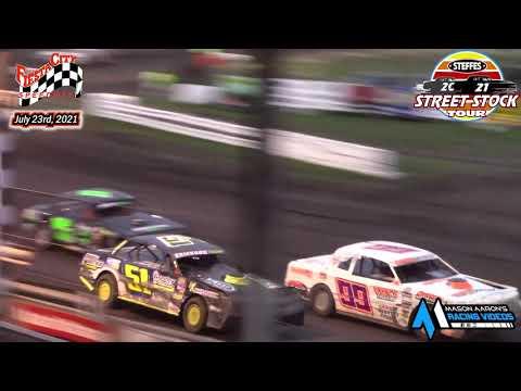Fiesta City Speedway Steffes WISSOTA Street Stock Tour A-Main (7/23/21) - dirt track racing video image