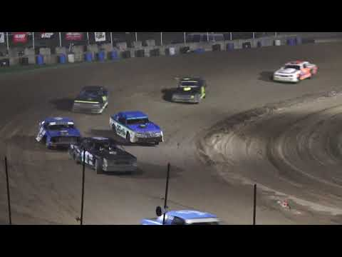 Street Stock B-Feature at Crystal Motor Speedway, Michigan on 08-14-2021!! - dirt track racing video image