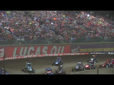 "Giovanni Scelzi 1-13-18 ""A"" Main Chili Bowl Tulsa - dirt track racing video image"