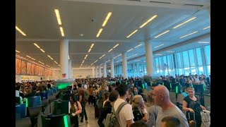 Customs and Border Protection outage snarls major US airports