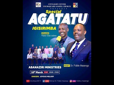 FOURSQUARE TV  ''AGATATU '' With Rev. Pastor GISA Cadeau 10.03.2021