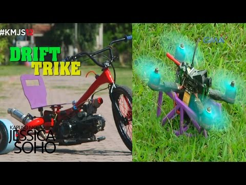 Kapuso Mo, Jessica Soho: Drone racing and tricycle drifting - UCj5RwDivLksanrNvkW0FB4w
