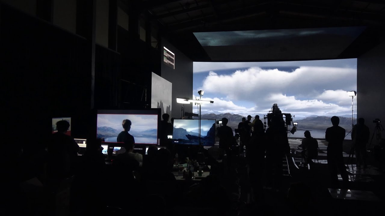 How Samsung Smart LED Signage transforms the virtual studio