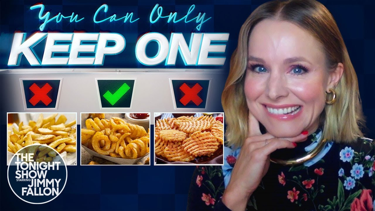 You Can Only Keep One with Kristen Bell | The Tonight Show Starring Jimmy Fallon