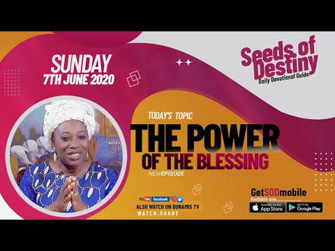 Dr Becky Paul-Enenche - SEEDS OF DESTINY  SUNDAY JUNE 7, 2020