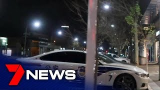 Police investigating fake Chinese cop car spotted near Central Market | Adelaide | 7NEWS