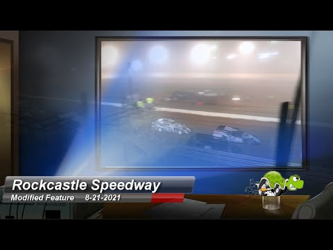 Rockcastle Speedway - Modified Feature - 8/21/2021 - dirt track racing video image