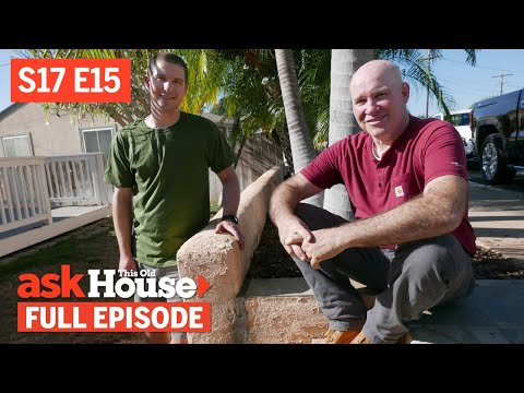 Ask This Old House | Stucco Repair, Gas Dryer (S17 E15) | FULL EPISODE - UCUtWNBWbFL9We-cdXkiAuJA