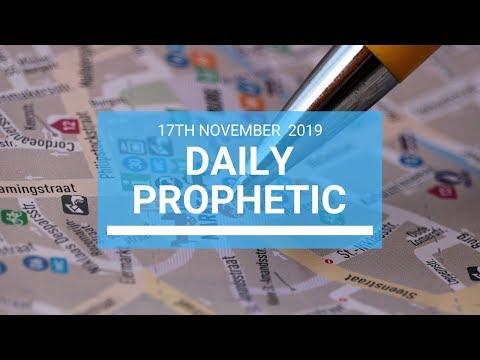 Daily Prophetic 17 November Word 1