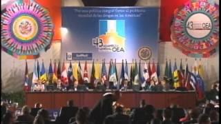 Presentación del Informe Anual 2012 de la CIDH ante la Asamblea General de la OEA Presidente de la CIDH, José de Jesús Orozco Henríquez Antigua, Guatemala 6 de junio de 2013
