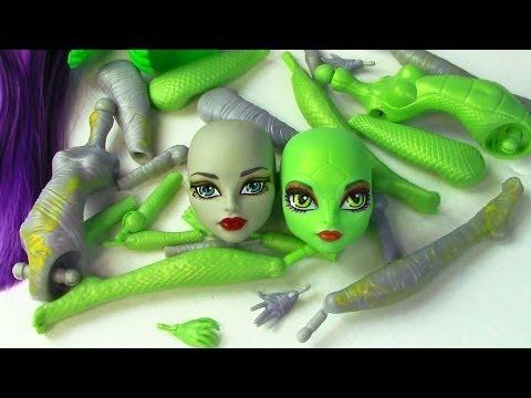 Create A Monster High Mummy & Gorgon Girls Doll Starter Pack CAM Set - UCelMeixAOTs2OQAAi9wU8-g