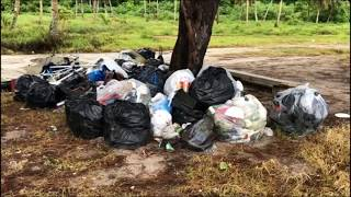 Who's responsible for cleaning Tanguisson Park? The answer's not that simple.