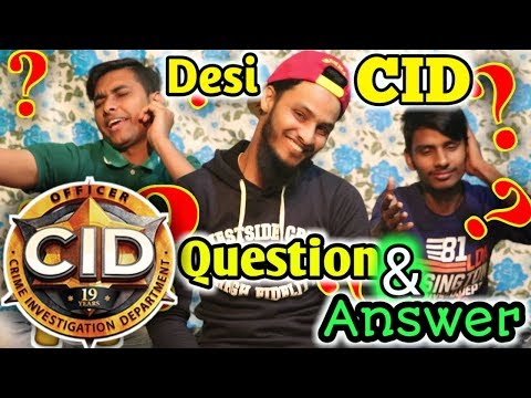 Desi Cid ??? Question And Answer | Family Entertainment bd | QnA Video