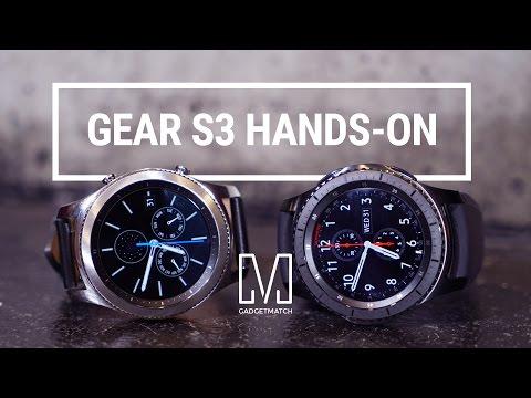 Samsung Gear S3 Hands-On - UCF47He8GtRaSHeTvvsyAOrw
