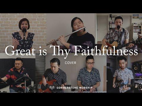 Great is Thy Faithfulness (Cover) - Bob Nathaniel  Cornerstone Worship