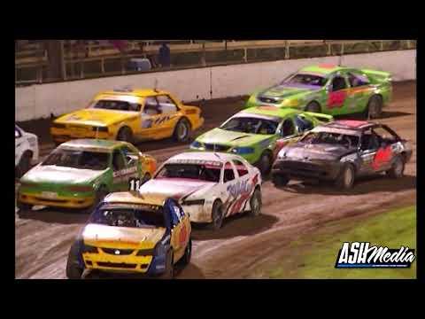 Modified Sedans: Allstar Series - A-Main - Lismore Speedway - 09.02.2013 - dirt track racing video image