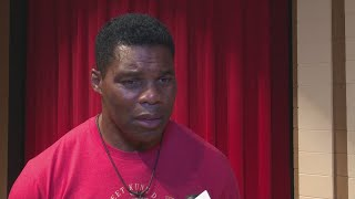 Herschel Walker speaks at Veterans High School