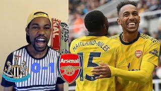 Newcastle United vs Arsenal 0-1 | Pierre-Emerick Aubameyang Scores Winning Goal For Arsenal
