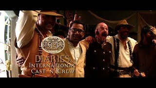 Chander Pahar Diaries | Ep 15 | International Cast n Crew Part II | Dev | Kamaleswar Mukherjee