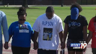 Alabama A&M University host prayer vigil