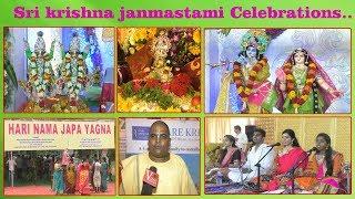 Sri krishna janmastami Celebration at AS Raja Grounds by Hare krishna movement Visakhapatnam,..