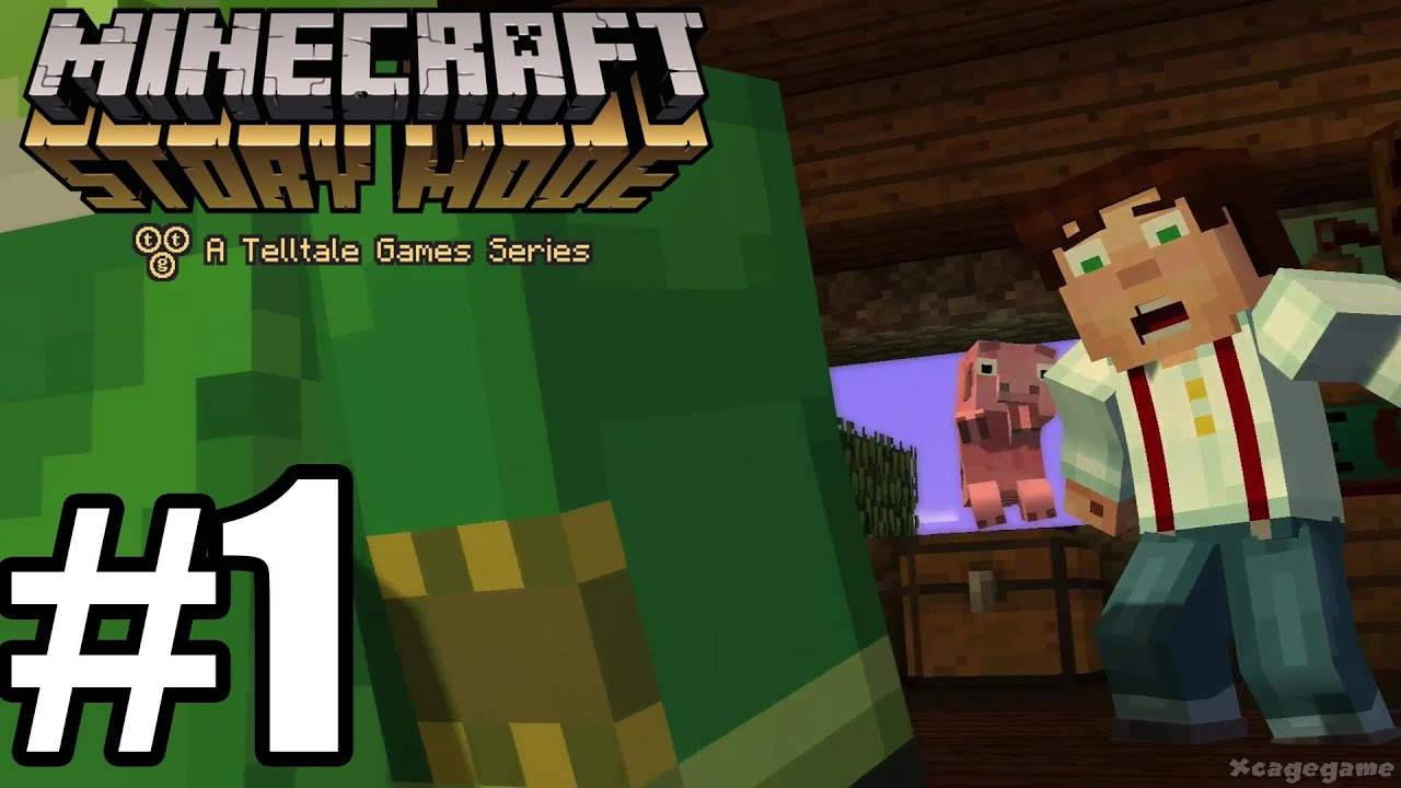 Minecraft Story Mode Episode 1 Gameplay Walkthrough Part 1 Hd
