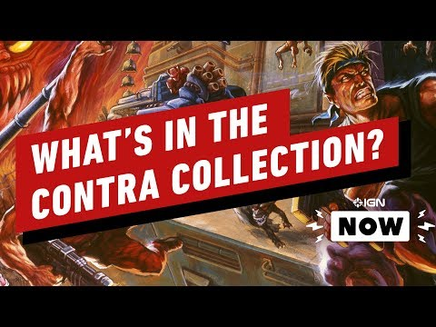 What's Included in the Contra Anniversary Collection? - IGN Now - UCKy1dAqELo0zrOtPkf0eTMw