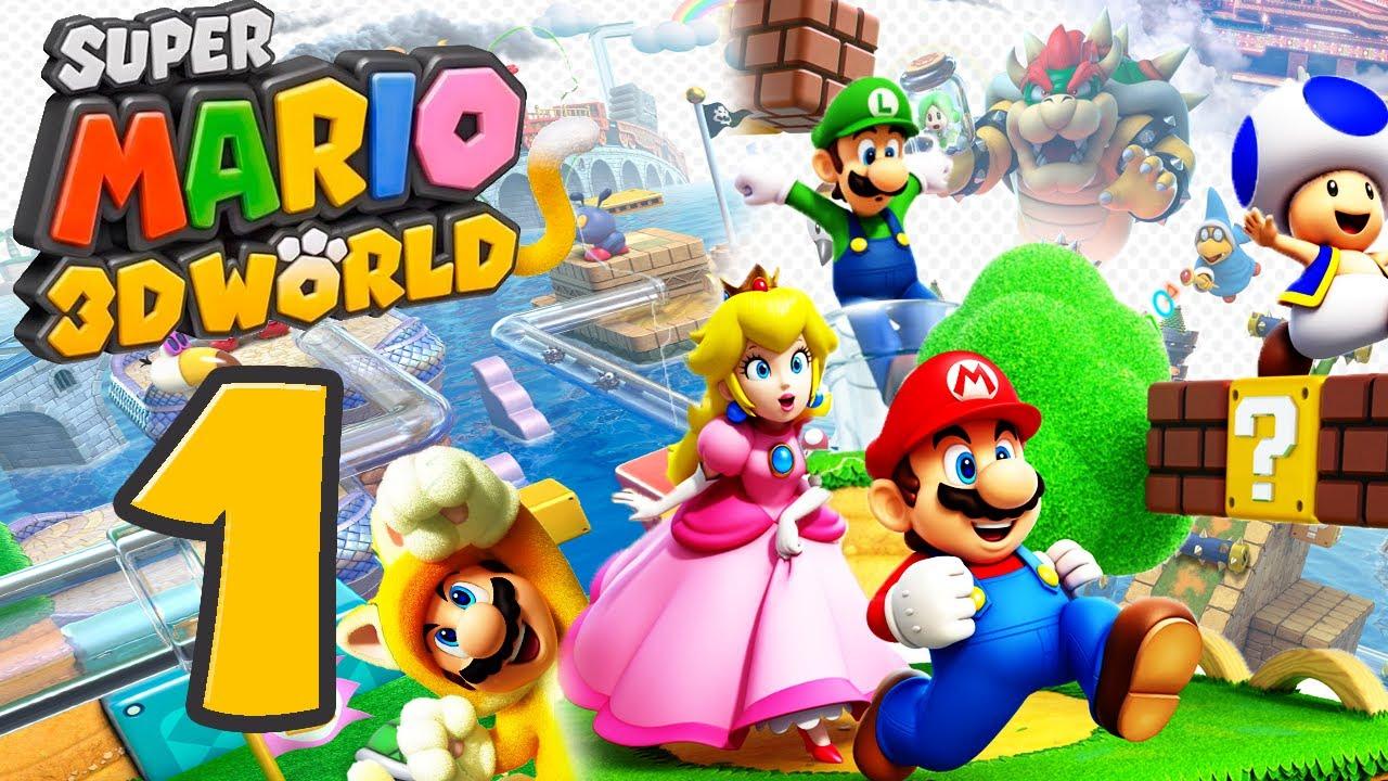Let S Play Super Mario 3d World Part 1 Abenteuer Im