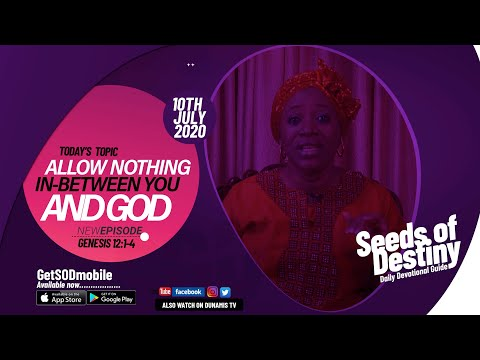 Dr Becky Paul-Enenche - SEEDS OF DESTINY - FRIDAY JULY 10, 2020