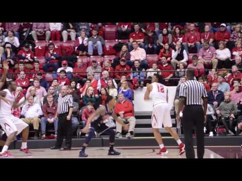 A highlight reel of Auburn's 82-77 victory over arch-rival Alabama at Coleman Colosseum.