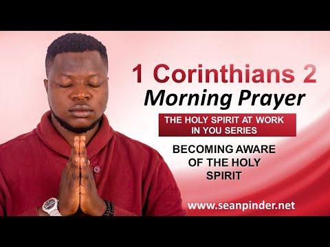Becoming AWARE of the HOLY SPIRIT - Morning Prayer