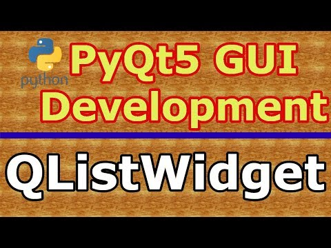 How To Create QFontDialog In PyQt5 (Python GUI Programming) #28