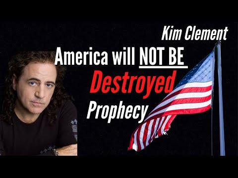 Kim Clement Prophecy - America WILL NOT be Destroyed!