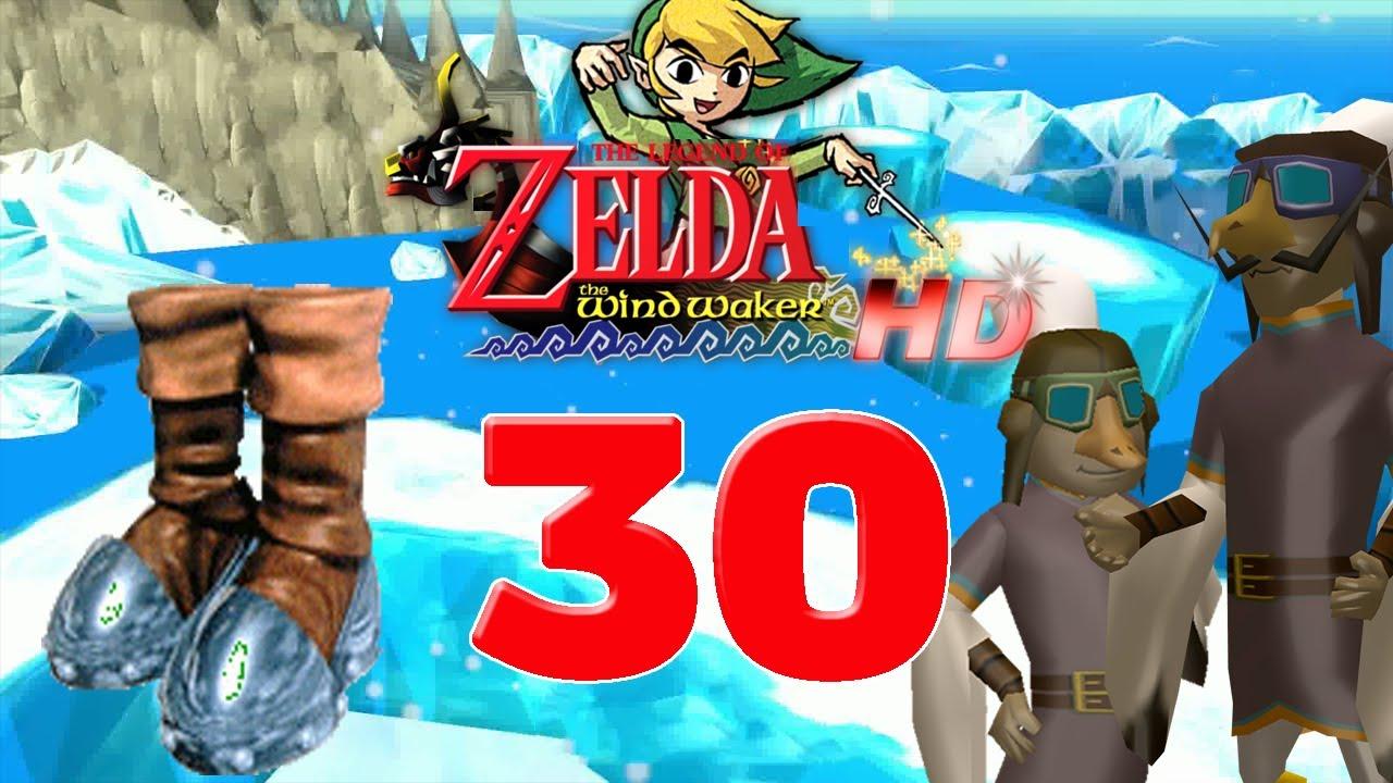 Zelda Wind Waker Karte.Let S Play The Legend Of Zelda The Wind Waker Hd Part 30 Eisiger