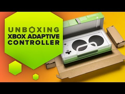 Unboxing the Xbox Adaptive Controller from Microsoft's new packaging design - UCOmcA3f_RrH6b9NmcNa4tdg