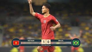 PES 19 | FIFA WORLDCUP | VÒNG BẢNG TRẬN 1 | VIETNAM vs BRAZIL - Giấc mơ Bóng Đá VIỆT NAM