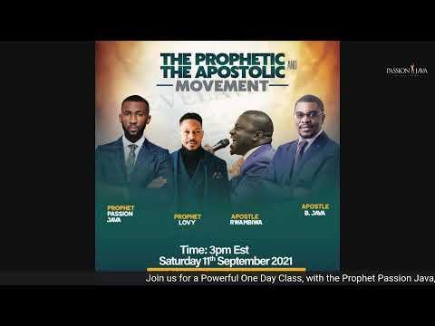 Jesus Encounter- LIVE! with Apostle Innocent Java