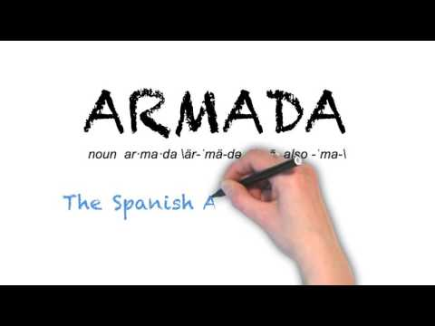 How to Pronounce 'ARMADA'- English Grammar