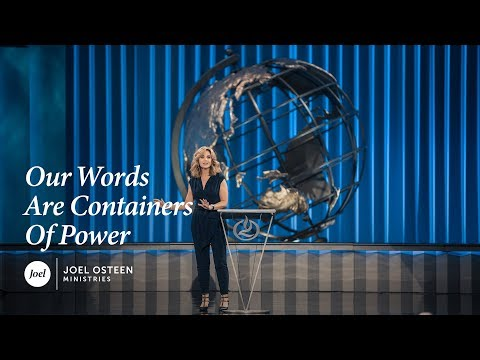 Victoria Osteen - Our Words are Containers of Power