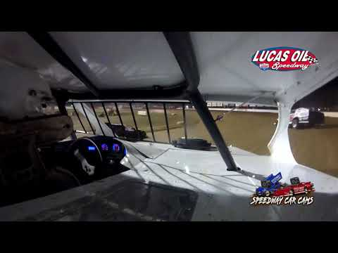 #7G Gabe Hodges - USRA B Modified - 10-9-2021 Lucas Oil Speedway - In Car Camera - dirt track racing video image