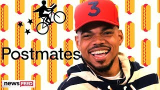 Chance The Rapper Has OUTRAGEOUS Postmates Bill!