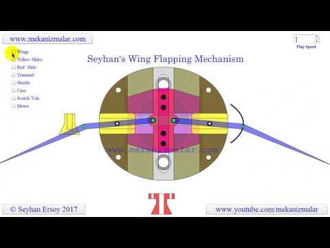 Seyhan's wing flapping mechanism - default