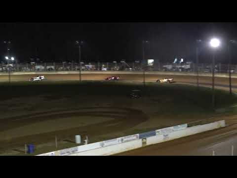 08/28/21 602 Crate Late Model Feature Race - Oglethorpe Speedway Park - dirt track racing video image