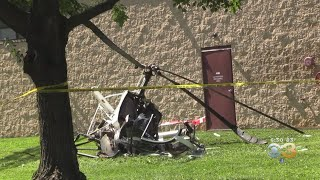 Small Helicopter Crashes Near Lehigh Valley Airport, Injuring 2 People