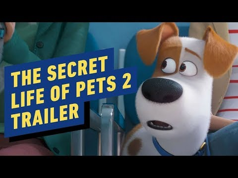 The Secret Life of Pets 2 - Official Trailer (2019) Kevin Hart, Patton Oswalt - UCKy1dAqELo0zrOtPkf0eTMw