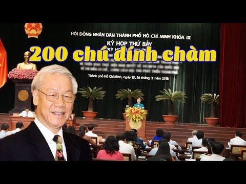 TP HCM Hơn 200 đảng viên bị kỷ luật trong 6 tháng  TBT Trọng dọn đường đưa phe bắc cộng vào cai