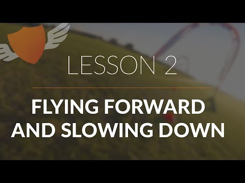 How-to Fly FPV Quadcopter/Drone // Beginner: Lesson 2 // Flying Forward and Slowing Down (Updated) - UC7Y7CaQfwTZLNv-loRCe4pA